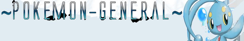 Pokémon General
