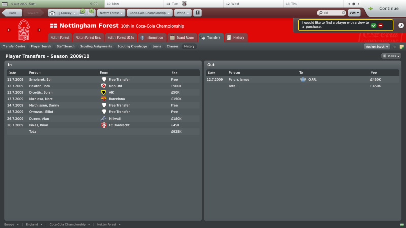 Nottingham Forest: My quest to make them european champions Nottin13