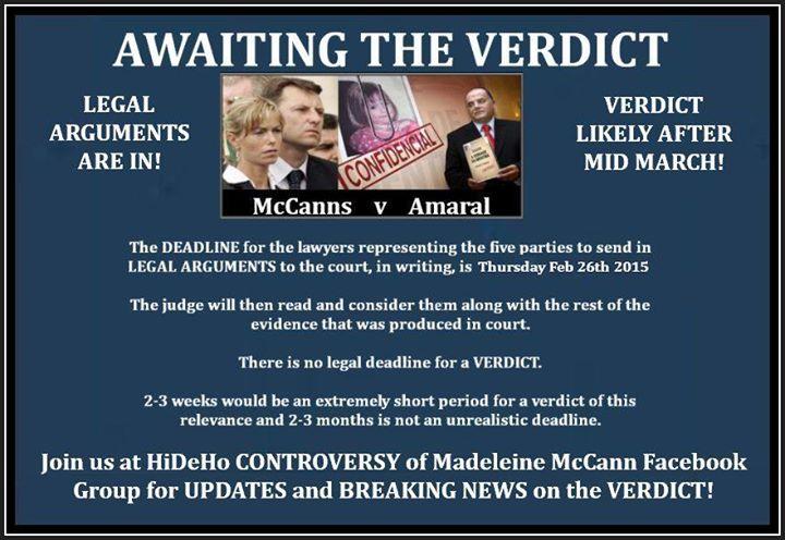 McCanns vs Amaral verdict nearing. - Page 2 Verdic10