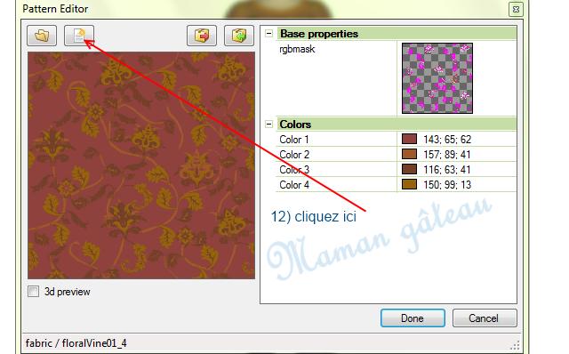 [Apprenti] TSR Workshop : voir ce que donne  sur un vêtement ou un objet du jeu  le motif que vous venez de créer avec TSR avant de l'exporter  0510
