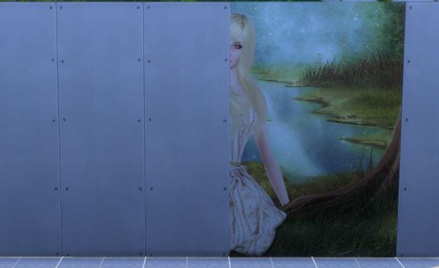 [Intermédiaire] S4 Studio - Papier peint, panneau d'image et placement automatique en jeu 1010