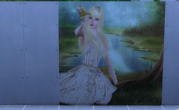 [Intermédiaire] S4 Studio - Papier peint, panneau d'image et placement automatique en jeu 1110