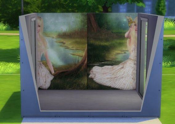 [Intermédiaire] S4 Studio - Papier peint, panneau d'image et placement automatique en jeu 1310