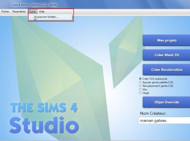 [Débutant] Sims4 Studio - Fusionner ses packages  210