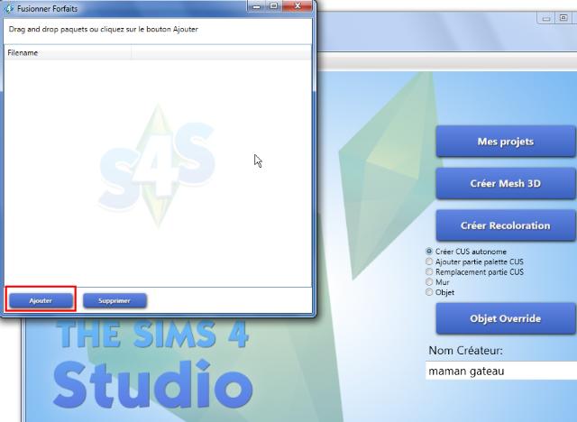 [Débutant] Sims4 Studio - Fusionner ses packages  312