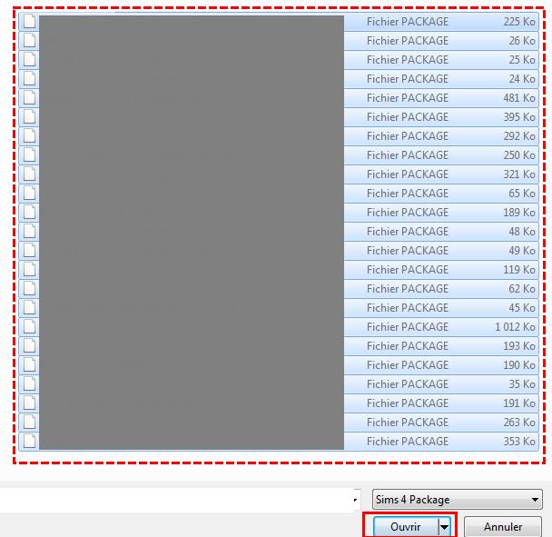 [Débutant] Sims4 Studio - Fusionner ses packages  412
