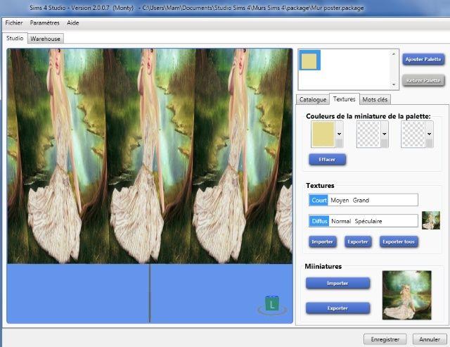[Intermédiaire] S4 Studio - Papier peint, panneau d'image et placement automatique en jeu 711