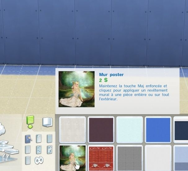 [Intermédiaire] S4 Studio - Papier peint, panneau d'image et placement automatique en jeu 810