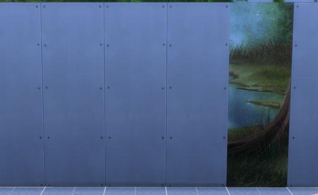 [Intermédiaire] S4 Studio - Papier peint, panneau d'image et placement automatique en jeu 910