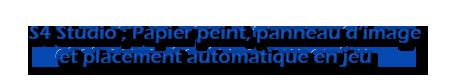 [Intermédiaire] S4 Studio - Papier peint, panneau d'image et placement automatique en jeu Untitl18