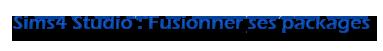 [Débutant] Sims4 Studio - Fusionner ses packages  Untitl19