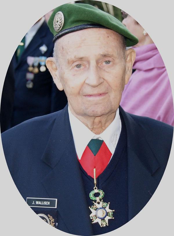 DECES D'UN GRAND LEGIONNAIRE L'adjudant-chef Johann Wallish a servi 15 ans et demi à la Légion étrangère (février 1946 – août 1962). Il a effectué trois séjours en Indochine. Blessé et prisonnier à Dien Bien Phu Johann10