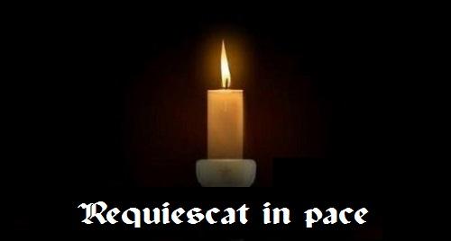 Osèques du sergent Lucien Ledun CPA 40, décédé le 1er avril 1957 Reqies14