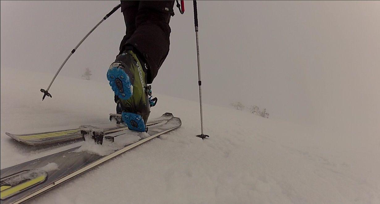 Credi 18 C'est Suppeyre le snowkite, Ah Peau le brouillard Rando110