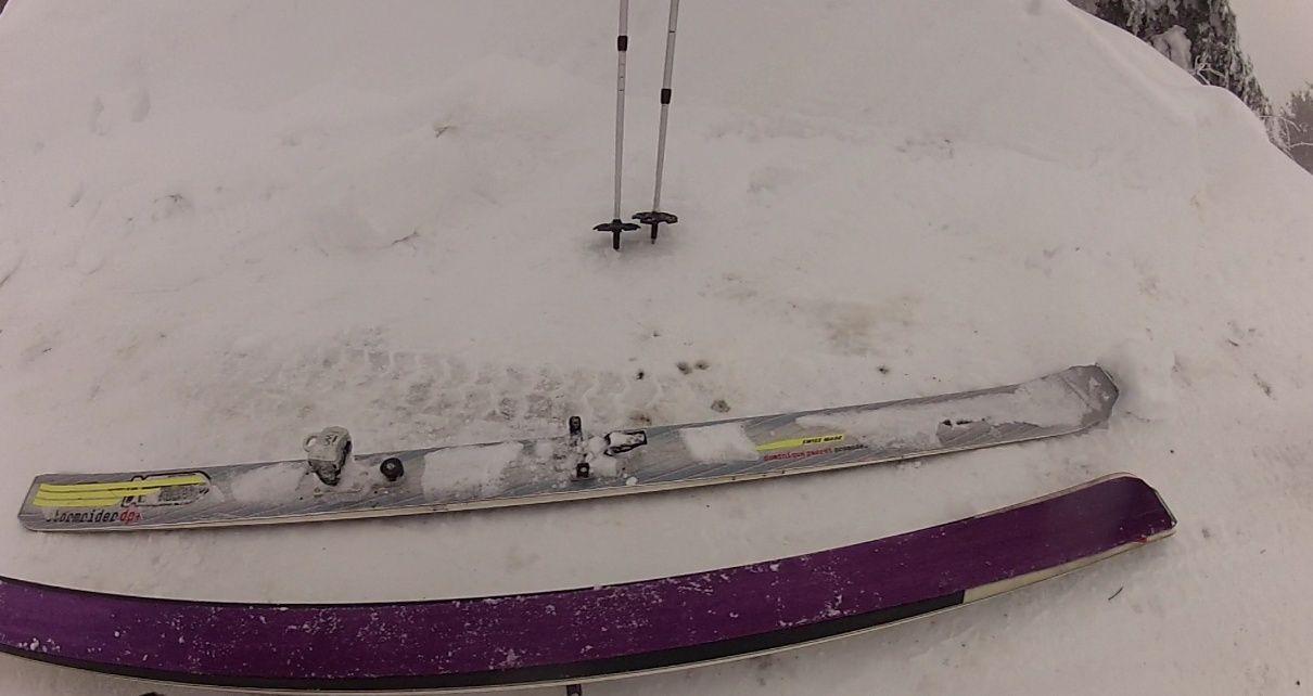 Credi 18 C'est Suppeyre le snowkite, Ah Peau le brouillard Skiran10