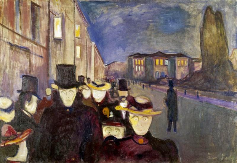 Edvard Munch [peintre/graveur] - Page 6 1892_e10