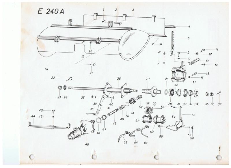 Rotovator pour 1032 largeur 800mm. 00214