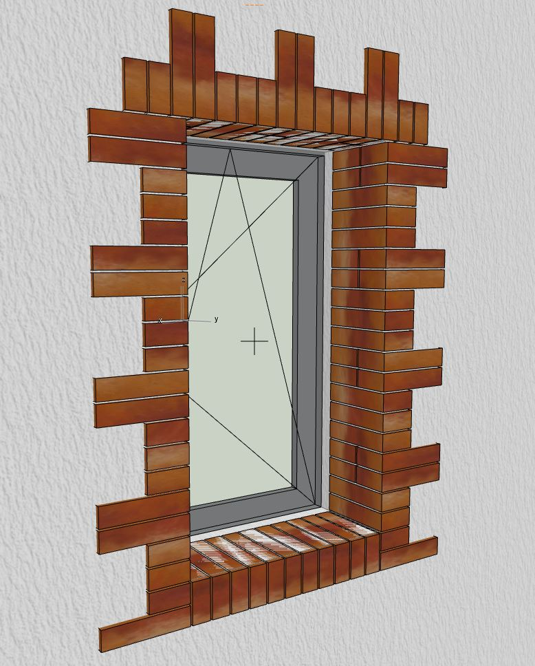 [ ARCHICAD-OBJETS GDL ] encadrement briques d'une fenêtre Encadr10