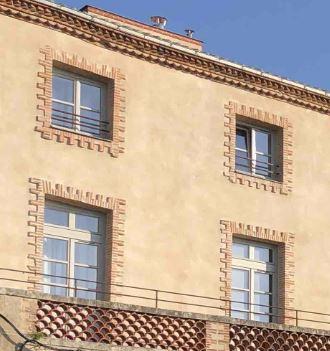 [ ARCHICAD-OBJETS GDL ] encadrement briques d'une fenêtre Fenetr11