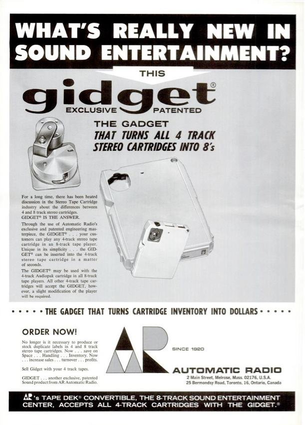 Today is 8 TRACK day! Gidget10