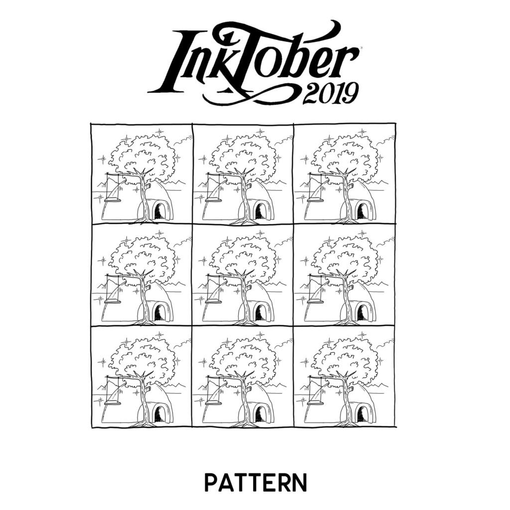 Inktober 2019 10-pat10