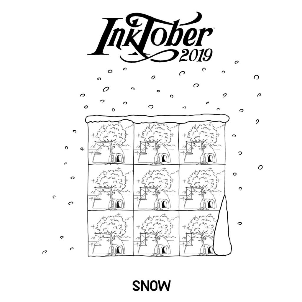 Inktober 2019 11-sno10