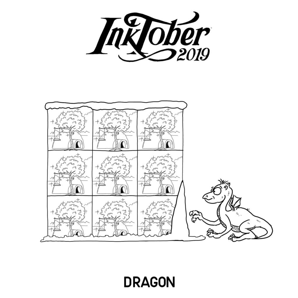 Inktober 2019 12-dra10