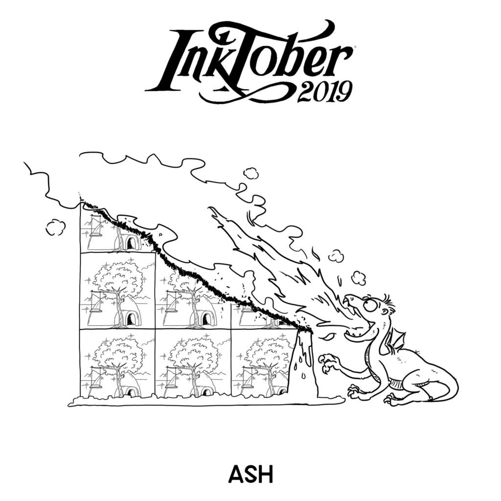 Inktober 2019 13-ash10