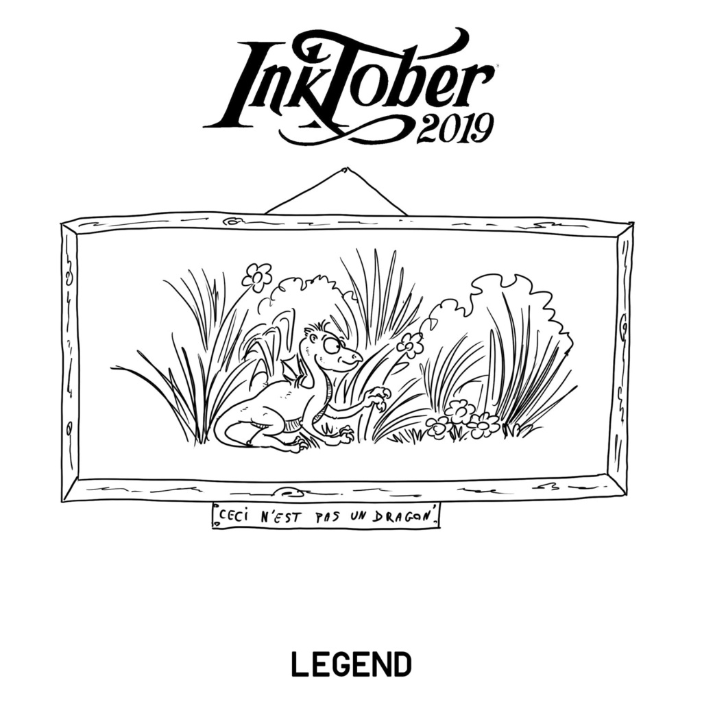 Inktober 2019 15-leg10