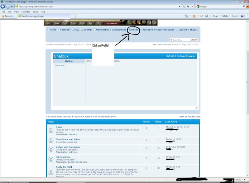 How to add an avatar to your account Click10