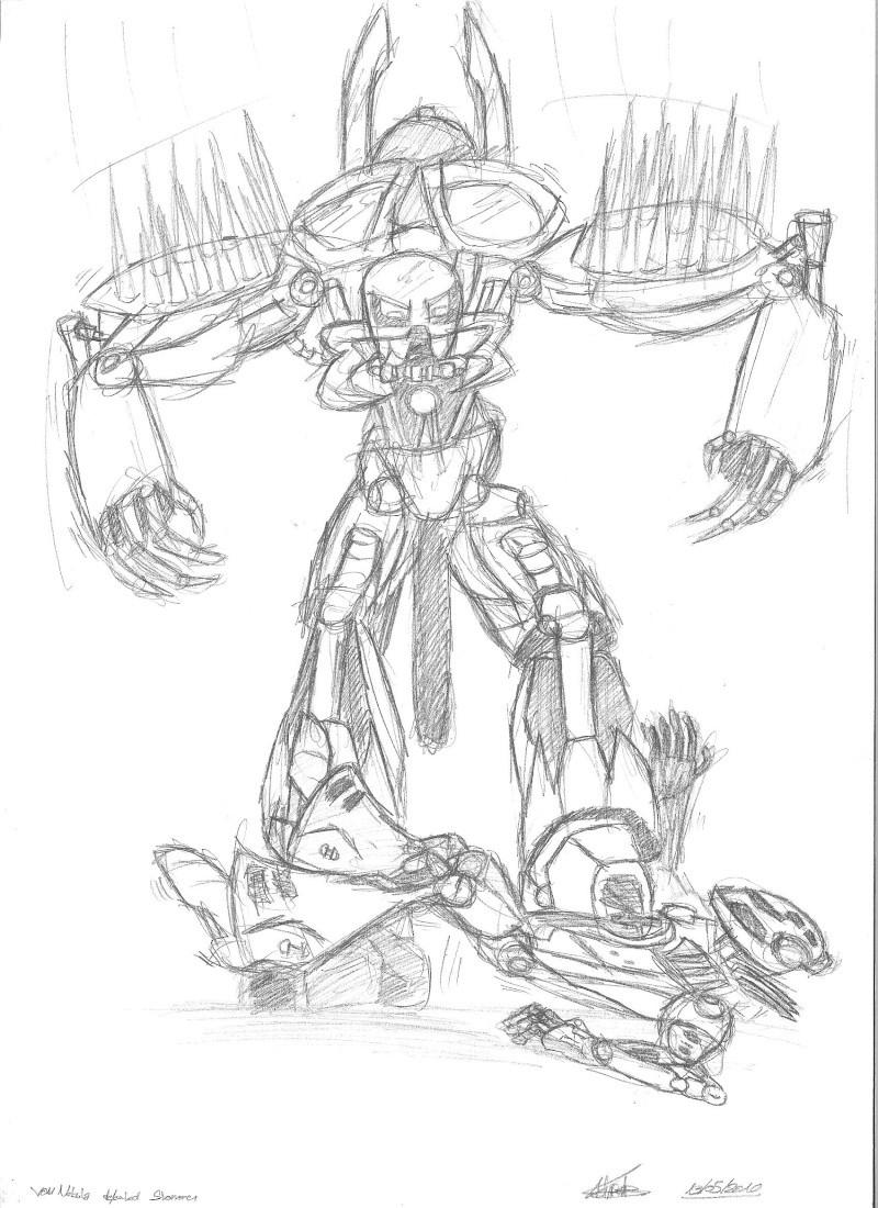 [Fan-arts] Les dessins de Hero Factory du net Von_ne10
