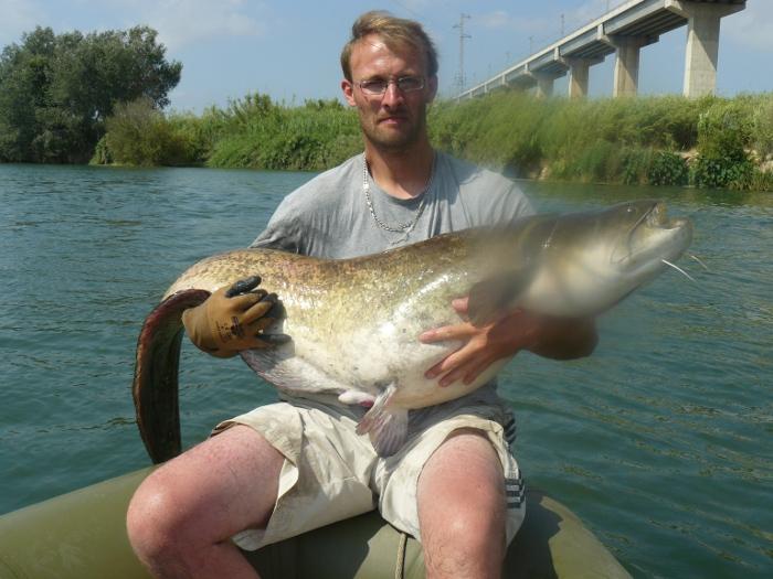 Séjour de pêche en espagne pour l'ancien et Rico92 P1000511