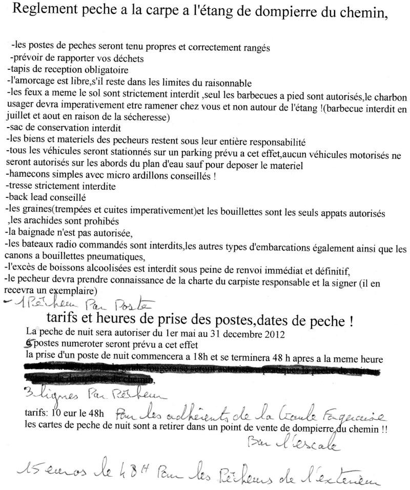 reglement etang de dompierre du chemin 35 Nadege10