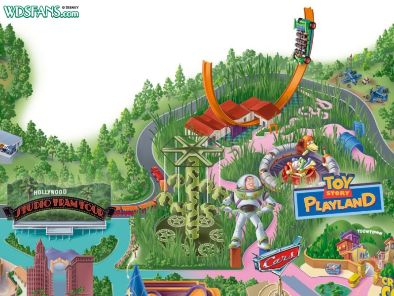 Toy Story Playland ( Walt Disney Studio) 2009-110