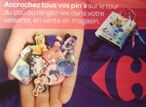 Pins Carrefour  53511311