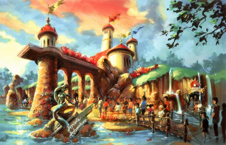 Magic Kingdom Forest (2012) Ariels10