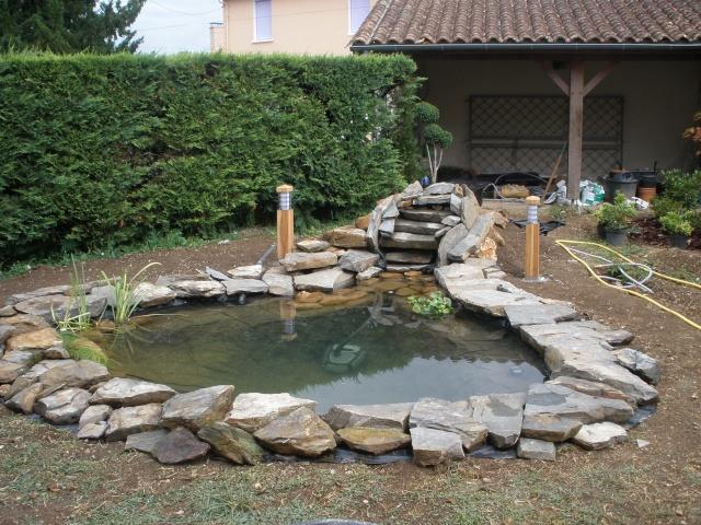 Cr ation bassin et jardin page 2 for Creation bassin de jardin