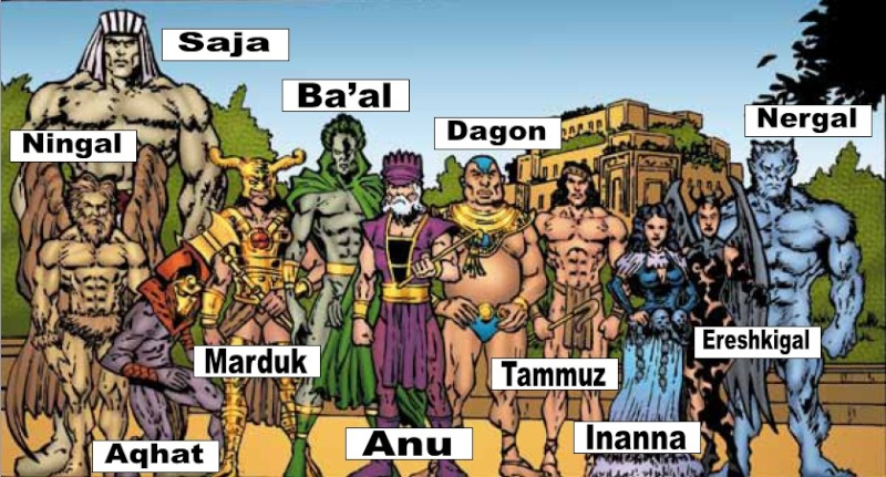 Os Deuses que vieram do Espaço Sumerg11