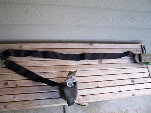 Dyeing Seat Belts Refurb11