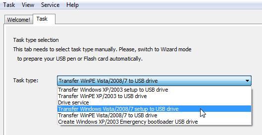 Создаём загрузочную флэшку с Windows 210