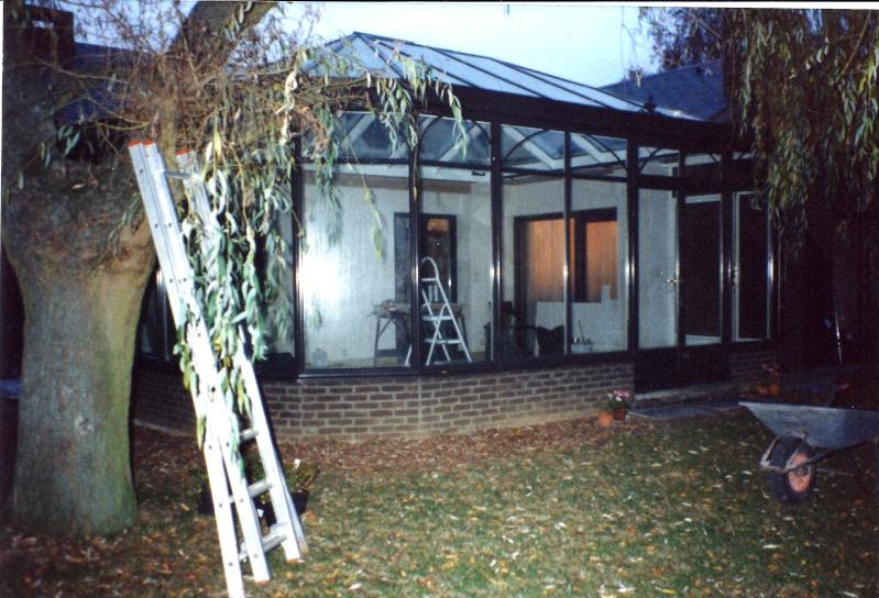 Maison préfabriqué transformée en traditionnelle. - Page 6 Verand35