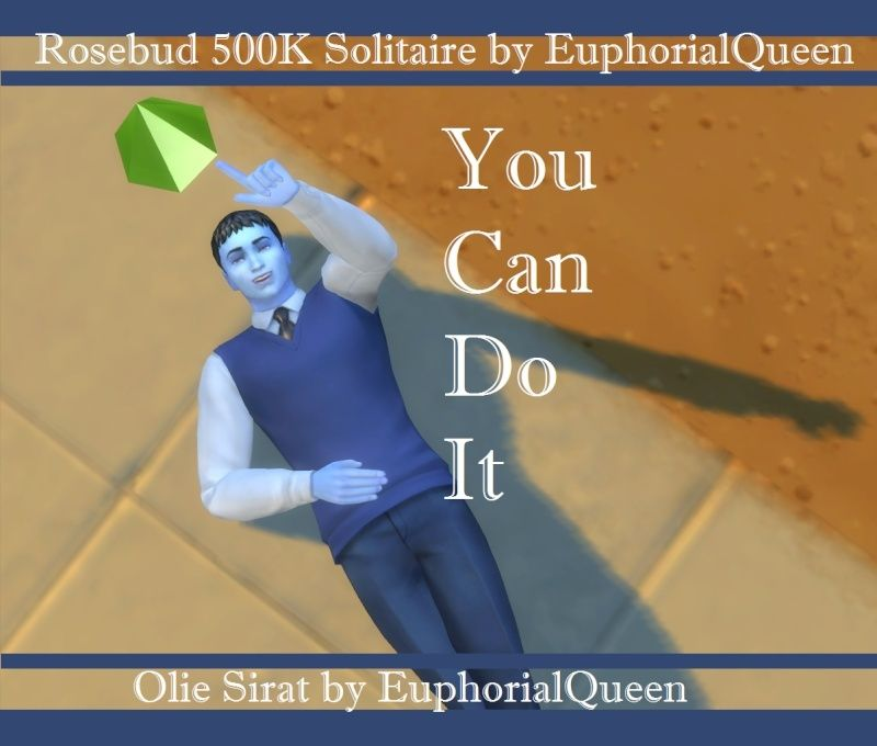 Olie Sirat: Solitary Sim Seeking Simoleons by EQ *Goal Completed* Plumbo10
