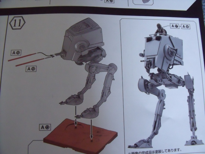 "Star Wars ""AT-ST"" 1/48 bandai      ""   terminé"" page 5 Dscf4117"
