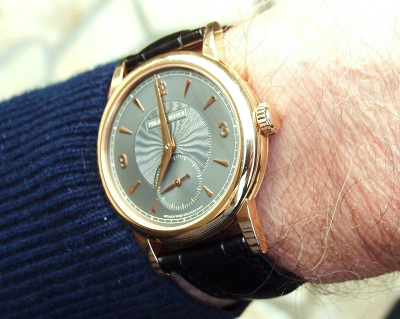 Vos plus belles montres habillées en or rose ou jaune 01312