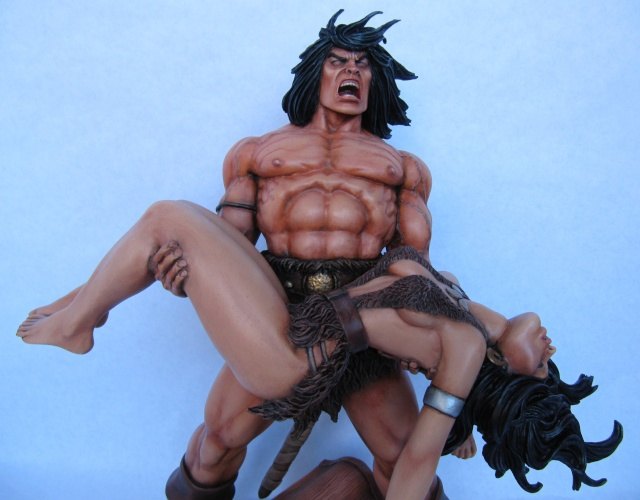 Conan the Barbarian : Death on the black coast 1/6. - Page 3 Con1010