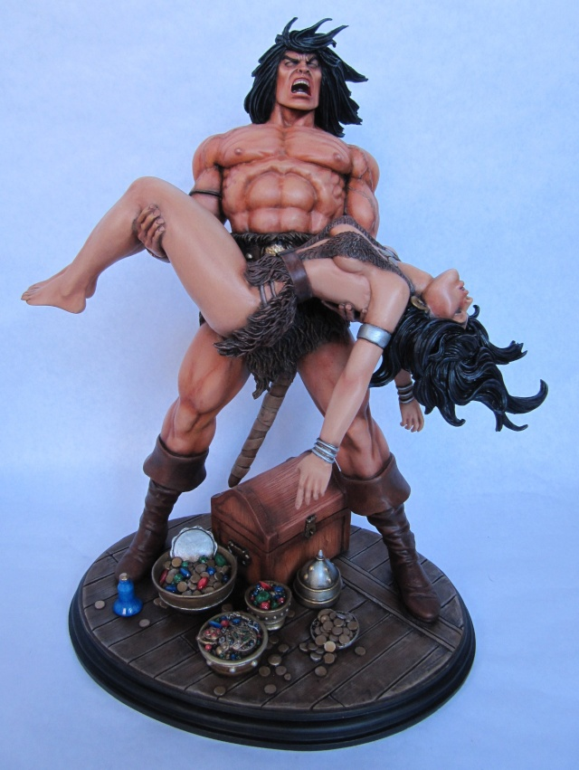 Conan the Barbarian : Death on the black coast 1/6. - Page 3 Con110