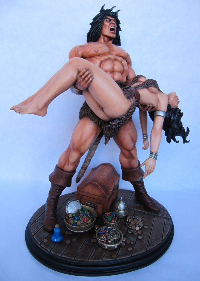 Conan the Barbarian : Death on the black coast 1/6. - Page 3 Con910