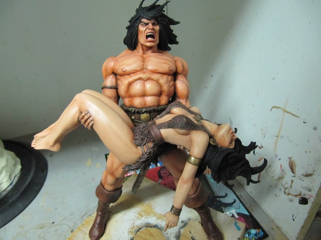 Conan the Barbarian : Death on the black coast 1/6. - Page 2 Img_5910