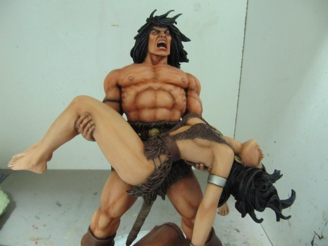 Conan the Barbarian : Death on the black coast 1/6. - Page 2 Img_6011