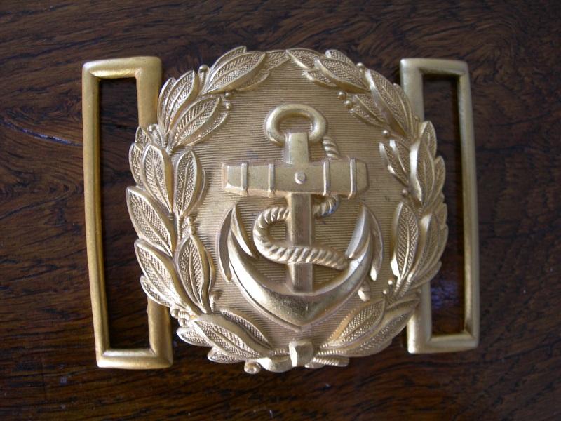 Boucle de ceinturon Officier KM Dscn2821